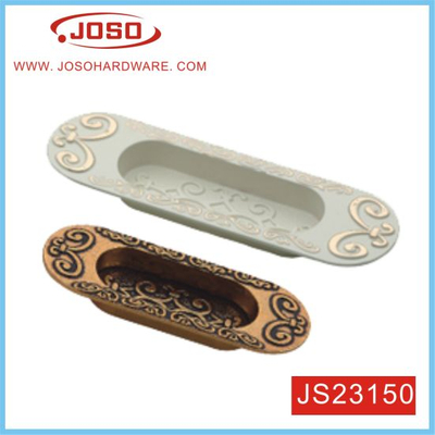 Oval Reccessed Pull Handle of Furniture Hardware for Cabinet