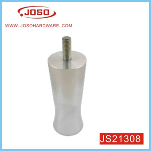 D44.5mm H110mm Aluminum Furniture Parts Metal Leg for Sofa