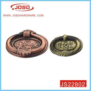 Round Classical Antique Copper Handle for Wooden Wardrobe