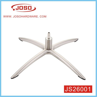 Factory Sale Furniture Parts Steel Chrome Plated 4 Arms Chair Leg