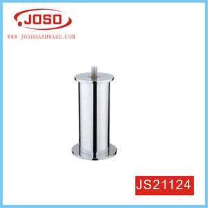 Customized Bright Chrome Plated Steel Furniture Leg For Sofa