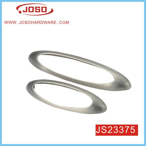 Fashion Oval Style Furniture Pull Handle for Kitchen Drawer