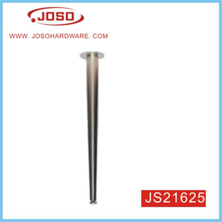 Chrome Plated Round Pipe Metal Furniture Table Leg