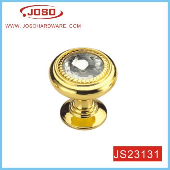 Gold Furniture Knob for Dresser Drawer in Bedroom