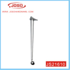 Chrome Plated Metal Table Leg with Caster