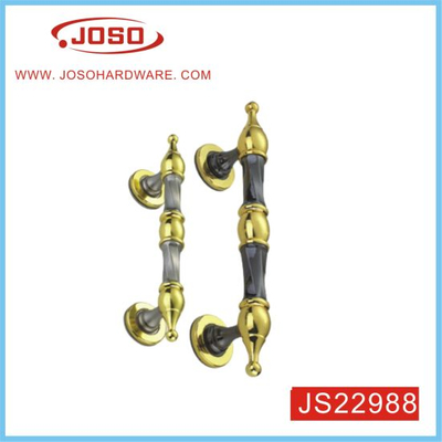 Zinc Alloy European Door Handle for Iron Door