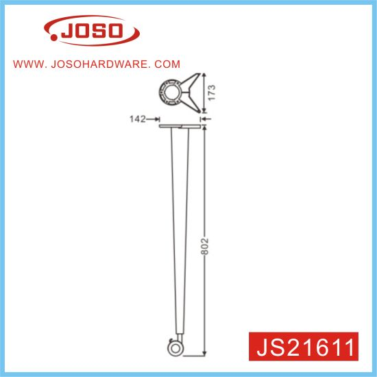 Power Painted Adjustable Home Furniture Table Leg