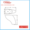 Whole Sale Furniture Parts Quality Plated Leg for Sofa