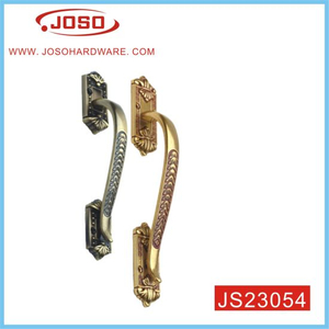 Elegant Texture Domestic/Outdoor Zinc Alloy Door Handle